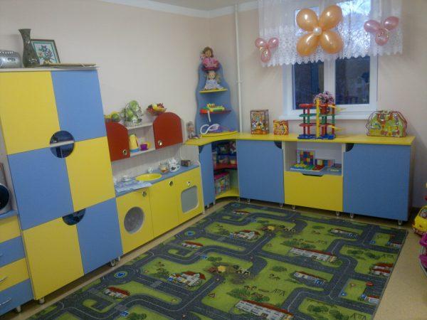 Игровая комната. Мебель для детского сада в Калининграде