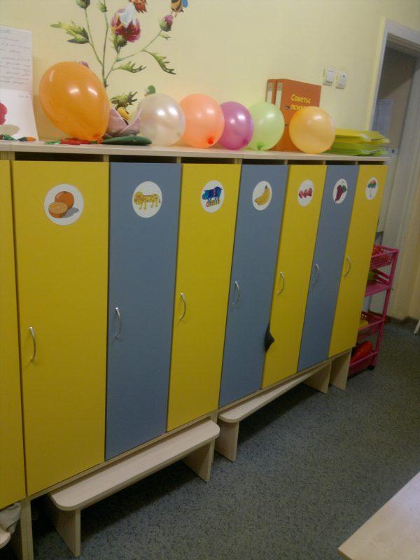 Модуль Раздевалка для детского сада в Калининграде