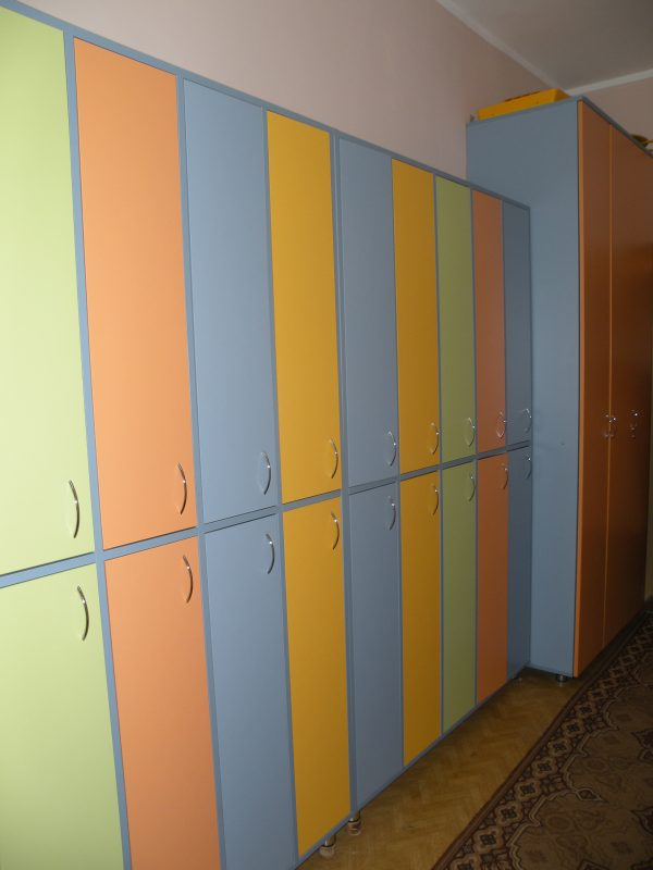 Шкаф для одежды. Мебель для детского сада в Калининграде