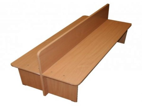 Скамейка двухсторонняя. Мебель для детского сада в Калининграде