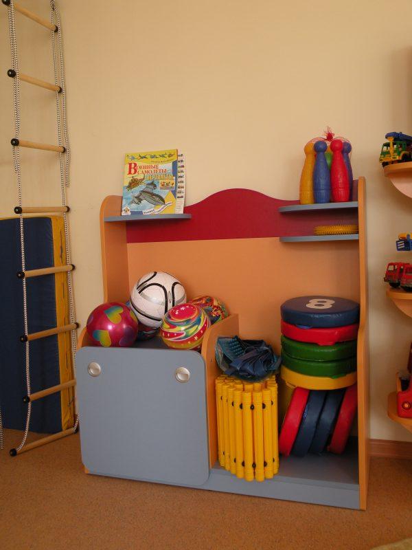 Спортивный уголок маленький. Мебель для детского сада в Калининграде