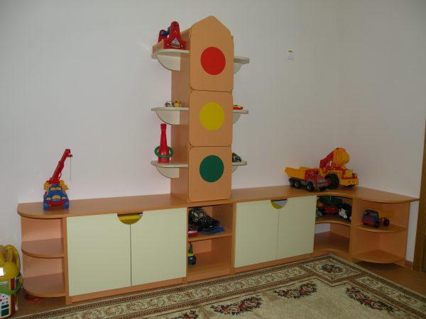 Cтеллаж для игрушек Светофор в Калининграде