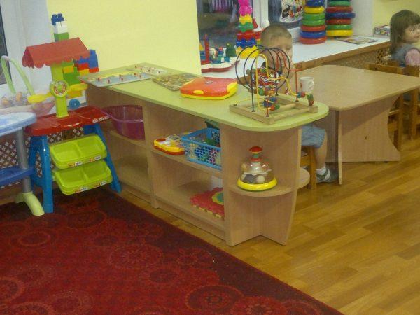 Стеллаж для игрушек. Мебель для детского сада в Калининграде