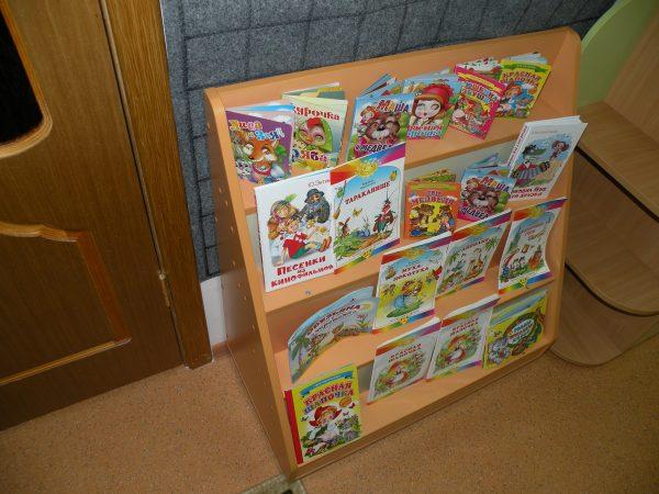 Стеллаж для пособий. Мебель для детских садов в Калининграде