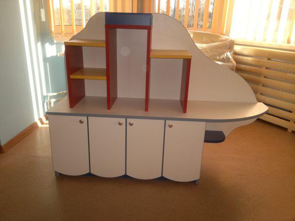 Стеллаж Кораблик для детского сада в Калининграде