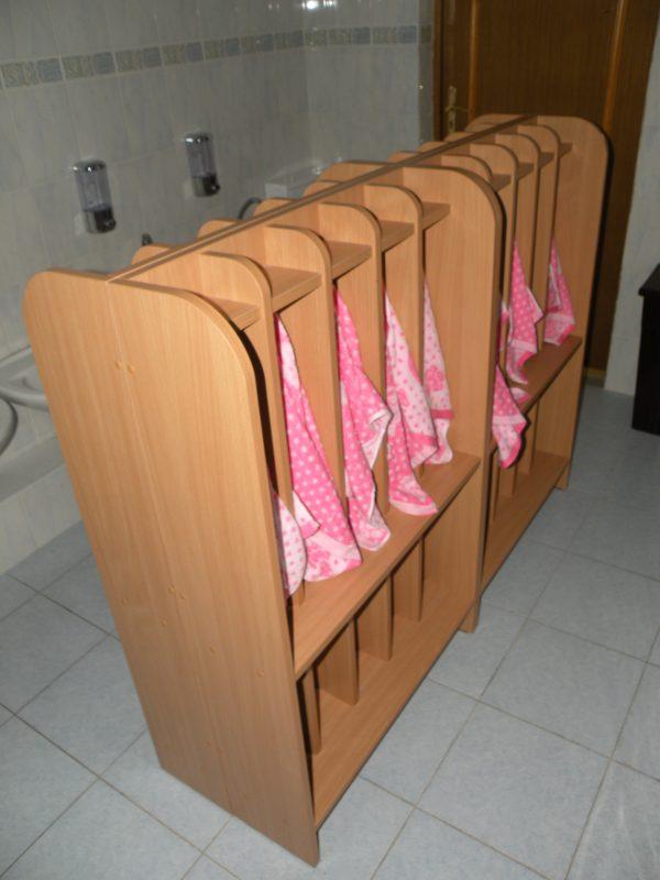 Вешалка для полотенец. Мебель для детских садов в Калининграде