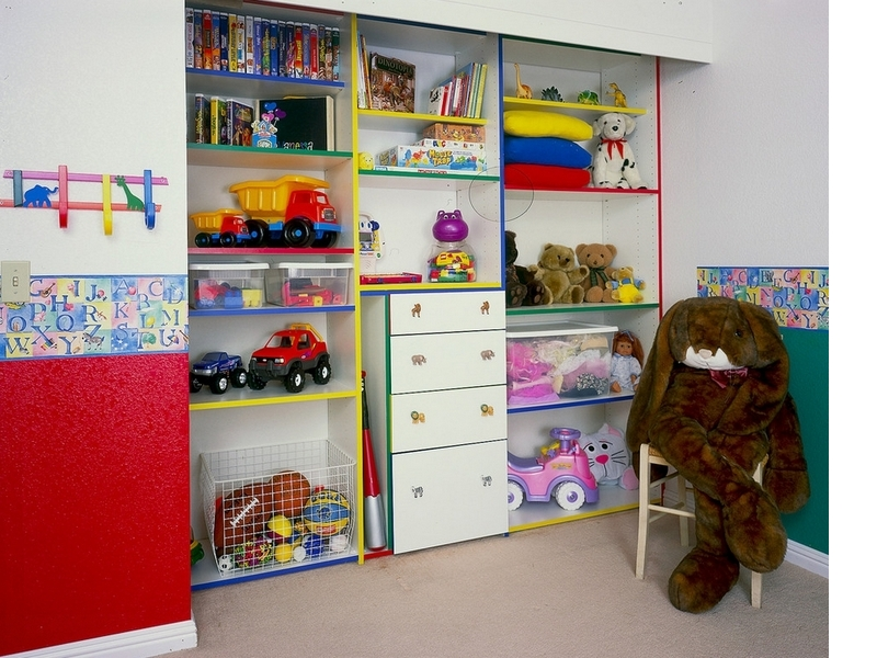 Стеллажи для игрушек в Калининграде
