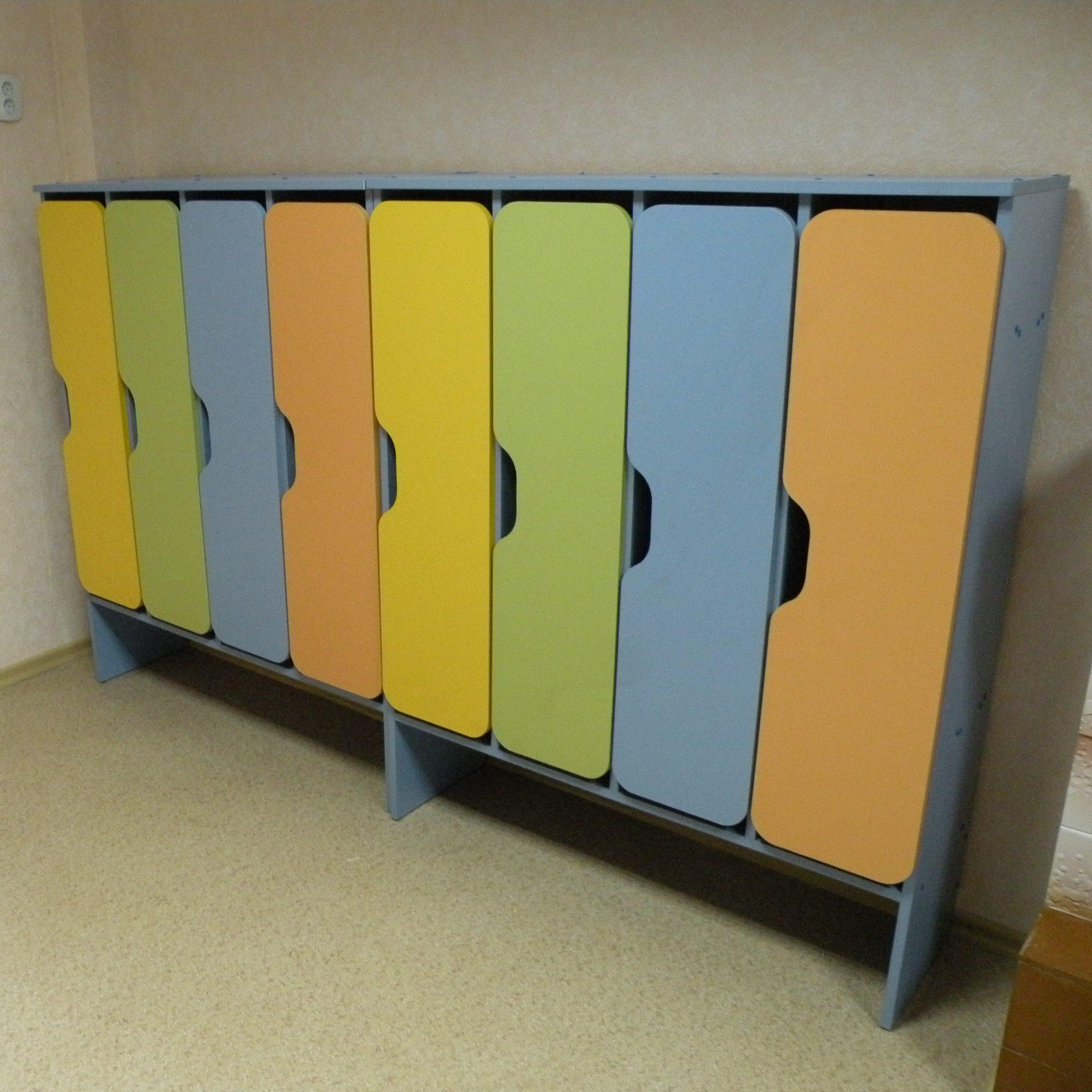 Шкаф для одежды в детском саду